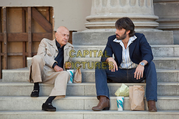 ALAN ARKIN & BEN AFFLECK.in Argo (2012) .*Filmstill - Editorial Use Only*.CAP/FB.Supplied by Capital Pictures.