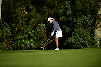 Cristie Kerr (USA) chips onto the 15th green during the Final Round at the Kia Classic,Park Hyatt Aviara Resort, Golf Club &amp; Spa, Carlsbad, California, USA. 3/25/18.<br /> Picture: Golffile | Bruce Sherwood<br /> <br /> <br /> All photo usage must carry mandatory copyright credit (&copy; Golffile | Bruce Sherwood)