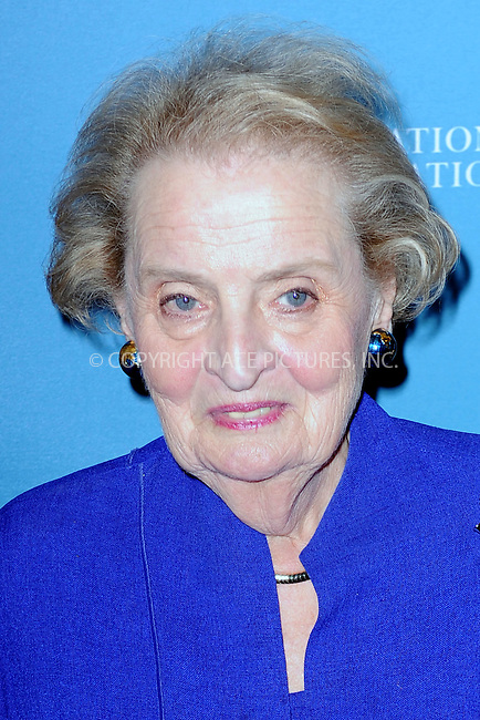 WWW.ACEPIXS.COM<br /> September 28, 2015 New York City<br /> <br /> Former Secretary of State Madeleine Albright attends the 2015 Social Good Summit at 92Y on September 28, 2015 in New York City.<br /> <br /> Credit: Kristin Callahan/ACE Pictures<br /> <br /> Tel: (646) 769 0430<br /> e-mail: info@acepixs.com<br /> web: http://www.acepixs.com