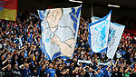 Hoffenheim fans during the Champions League playoff round at the Anfield Stadium, Liverpool. Picture date 23rd August 2017. Picture credit should read: Lynne Cameron/Sportimage