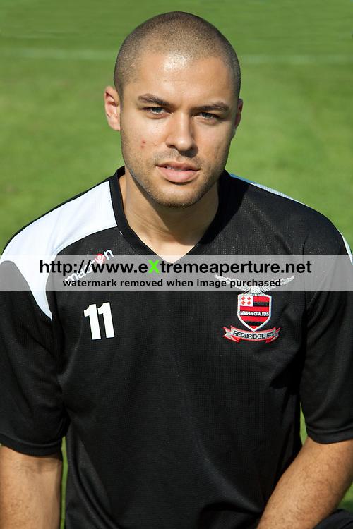 Vincent Durrant - Redbridge FC 2011-12