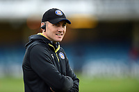 Bath Rugby first team coach Girvan Dempsey looks on prior to the match. Heineken Champions Cup match, between Bath Rugby and Wasps on January 12, 2019 at the Recreation Ground in Bath, England. Photo by: Patrick Khachfe / Onside Images