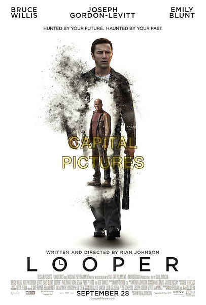 ONE SHEET POSTER ART.in Looper (2012) .*Filmstill - Editorial Use Only*.CAP/FB.Supplied by Capital Pictures.