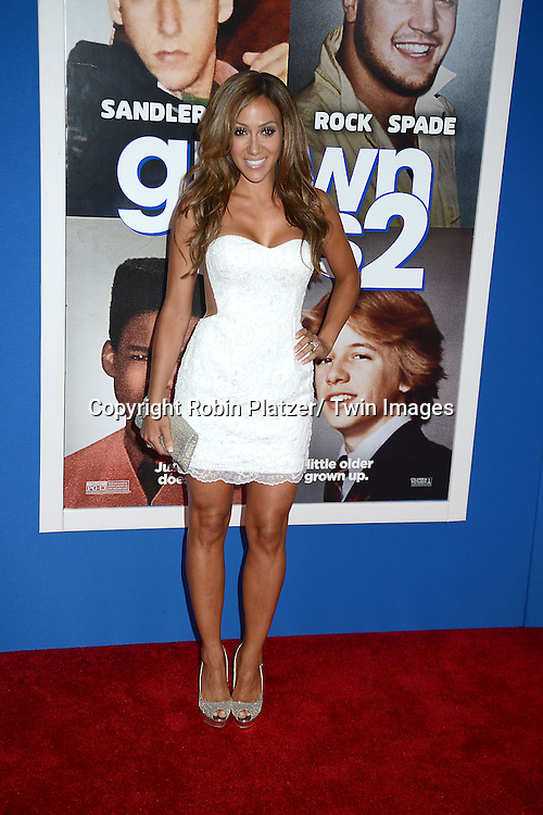 """Melissa Gorga attend the Special Screening of """"Grown Ups 2"""" on July 10, 2013 at AMC Lincoln Square in New York City. The film stars Adam Sandler, Chris Rock, Kevin James, David Spade, Salma Hayek and Shaquille O' Neal."""