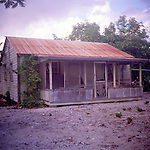 Abandoned house, Cayman Brac, Cayman Islands,