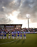 September 12, 2009. Cary, NC..The Carolina Railhawks took over the #2 spot in the league after a 2-1 victory over the Puerto Rico Islanders.