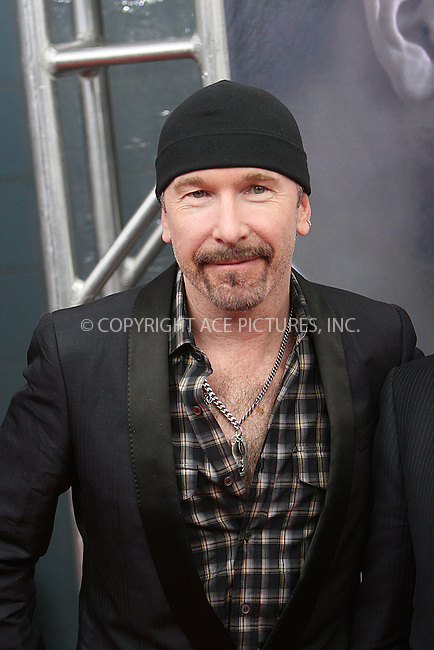 WWW.ACEPIXS.COM . . . . .  ....November 22 2009, New York City....Musician The Edge at The Cinema Society, Details and DKNY screening of 'Brothers' at the SVA Theater on November 22, 2009 in New York City.....Please byline: NANCY RIVERA- ACEPIXS.COM.... *** ***..Ace Pictures, Inc:  ..Tel: 646 769 0430..e-mail: info@acepixs.com..web: http://www.acepixs.com