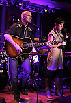 Michael Cerveris & Loose Cattle featuring Kimberly Kaye  performing a press preview at 54 Below on 10/24/2012 in New York City.