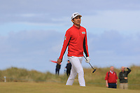 Soomin Lee (KOR) on the 2nd during Round 1 of the Dubai Duty Free Irish Open at Ballyliffin Golf Club, Donegal on Thursday 5th July 2018.<br /> Picture:  Thos Caffrey / Golffile
