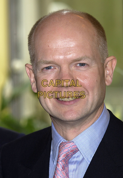 WILLIAM HAGUE MP.Foyles Literary Luncheon, Dorchester Hotel, London, October 15th 2004..portrait headshot.Ref: PL.www.capitalpictures.com.sales@capitalpictures.com.©Capital Pictures.