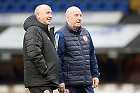 The Accrington Coaching staff look on before Ipswich Town vs Accrington Stanley, Sky Bet EFL League 1 Football at Portman Road on 11th January 2020