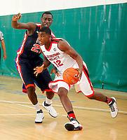 April 10, 2011 - Hampton, VA. USA;  Daniel Ogunyemi participates in the 2011 Elite Youth Basketball League at the Boo Williams Sports Complex. Photo/Andrew Shurtleff