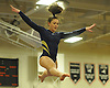 Heidi Baldinger of Massapequa performs on the balance beam during the Nassau County varsity gymnastics individual championships and state qualifiers at Hicksville High School on Tuesday, Feb. 9, 2016.