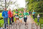 Emer O'Sullivan, Clodagh O'Donoghue and Grace Oconnor who took part in the Killarney Women's Mini Marathon on Saturday last.