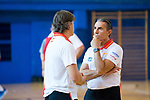 Coach Sergio Scariolo during the training of Spanish National Team of Basketball. August 06, 2019. (ALTERPHOTOS/Francis González)