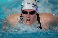 Ruby Matthews in the Final of the Women 400SC meter IM, at the New Zealand Short Course Swimming Championships, National Aquatic Centre, Auckland, New Zealand, Friday 4th October 2019. Photo: Brett Phibbs/www.bwmedia.co.nz/SwimmingNZ