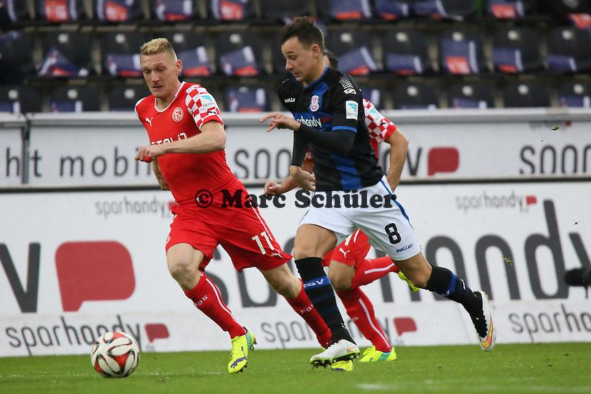 Mario Engels (FSV) gegen Axel Bellinghausen (Fortuna) - FSV Frankfurt vs. Fortuna Düsseldorf, Frankfurter Volksbank Stadion