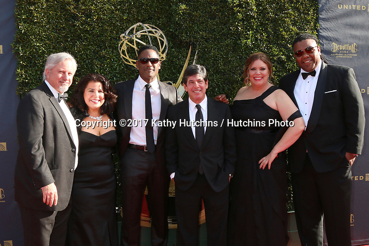"LOS ANGELES - APR 28:  Blair Underwood, ""Give"" Team at the 2017 Creative Daytime Emmy Awards at the Pasadena Civic Auditorium on April 28, 2017 in Pasadena, CA"
