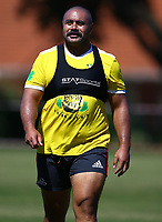 DURBAN, SOUTH AFRICA -Monday February 18th: Karl Tu'inukuafe of the Blues during the Blues Training at Northwood School Durban North, on February 18th, 2019 in Durban, South Africa. (Photo by Steve Haag / stevehaagsports.com)