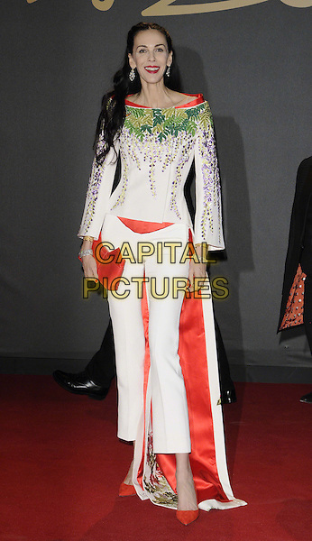 L'Wren Scott, partner of Mick Jagger &amp; former model, is found dead in her New York home on in an apparent suicide on March 17th, 2014.<br /> LONDON, ENGLAND - DECEMBER 02: L'Wren Scott at the British Fashion Awards 2013 at London Coliseum on December 2, 2013 in London, England.<br /> CAP/CAN<br /> &copy;Can Nguyen/Capital Pictures