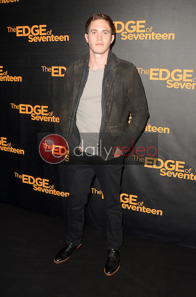 """Blake Jenner<br /> at the """"Edge of Seventeen"""" Photo Call, Four Seasons Hotel, Beverly Hills, CA 10-29-16<br /> David Edwards/DailyCeleb.com 818-249-4998"""