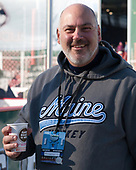 Paul Culina (Maine - Athletic Trainer/Dir-HockeyOps) - The University of Maine Black Bears defeated the University of Connecticut Huskies 4-0 at Fenway Park on Saturday, January 14, 2017, in Boston, Massachusetts.