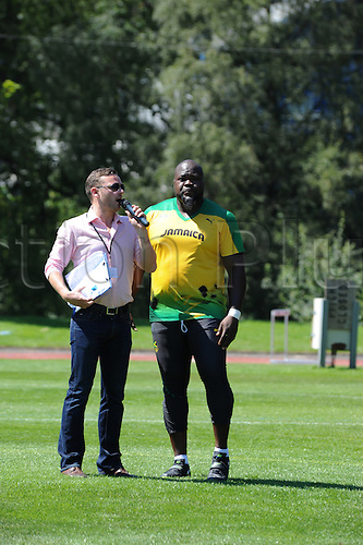 07.24.2012. Birmingham, England. Jason Morgan. Team Jamaica training session held at University of Birmingham