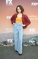 "10 May 2019 - North Hollywood, California - Hannah Alligood. FYC Red Carpet Event For Season 3 Of FX's ""Better Things"" held at The Saban Media Center. Photo Credit: Faye Sadou/AdMedia"