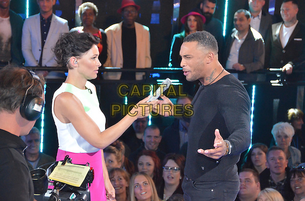 Emma Willis (nee Griffiths), David McIntosh	<br /> in Celebrity Big Brother - Summer 2014 <br /> *Editorial Use Only*<br /> CAP/NFS<br /> Image supplied by Capital Pictures