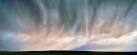 Rain from thenderstorm. Badlands National Park, South Dakota