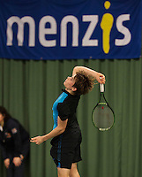 Rotterdam, The Netherlands, March 20, 2016,  TV Victoria, NOJK 14/18 years, Ryan Nijboer (NED)<br /> Photo: Tennisimages/Henk Koster