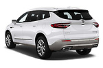Car pictures of rear three quarter view of a 2018 Buick Enclave Avenir 5 Door SUV angular rear
