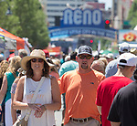 A photograph taken during the Great Eldorado BBQ, Brews and Blues Festival in Reno, Nevada on Saturday, June 16, 2018.