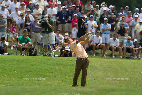 Ryo Ishikawa (JPN), AUGUST 12, 2011 - Golf : Ryo Ishikawa of Japan in action during the second round of the 93rd PGA Championship at the Atlanta Athletic Club in Johns Creek, Georgia, United States. (Photo by Thomas Anderson/AFLO) (JAPANESE NEWSPAPER OUT)