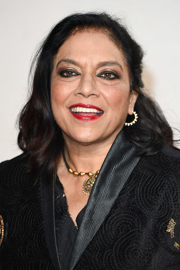 """director, Mira Nair<br /> at the London Film Festival 2016 premiere of """"Queen of Katwe"""" at the Odeon Leicester Square, London.<br /> <br /> <br /> ©Ash Knotek  D3168  09/10/2016"""