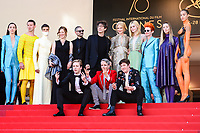 "21 May 2017 - Cannes, France - Nicole Kidman, Elle Fanning, Alex Sharp, AJ Lewis, John Cameron,. ""How To Talk To Girls At Parties"" Premiere - 70th Annual Cannes Film Festival held at Palais des Festivals. Photo Credit: Jan Sauerwein/face to face/AdMedia"