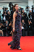 Rebecca Hall at the Downsizing premiere and Opening Ceremony, 74th Venice Film Festival in Italy on 30 August 2017.<br /> <br /> Photo: Kristina Afanasyeva/Featureflash/SilverHub<br /> 0208 004 5359<br /> sales@silverhubmedia.com