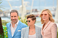 Denis Villeneuve, Kristen Stewart &amp; Cate Blanchett at the photocall for the Cannes Jury at the 71st Festival de Cannes, Cannes, France 08 May 2018<br /> Picture: Paul Smith/Featureflash/SilverHub 0208 004 5359 sales@silverhubmedia.com