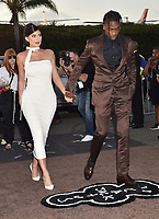 """SANTA MONICA, CA - AUGUST 27: Kylie Jenner, Travis Scott attends the Travis Scott: """"Look Mom I Can Fly"""" Los Angeles Premiere at The Barker Hanger on August 27, 2019 in Santa Monica, California.<br /> CAP/ROT/TM<br /> ©TM/ROT/Capital Pictures"""