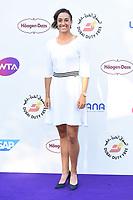 Caroline Garcia<br /> arriving for the Tennis on the Thames WTA event in Bernie Spain Gardens, South Bank, London<br /> <br /> ©Ash Knotek  D3412  28/06/2018
