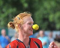 KAATSEN: ARUM: 28-07-2013, Dames Hoofdklasse wedstrijd, Lisette Wagenaar, Leonie v/d Graaf, ©foto Martin de Jong