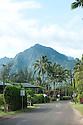 The Mountain at Hanalei Bay on Kauai in Hawaii.