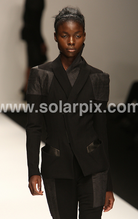 **ALL ROUND PICTURES FROM SOLARPIX.COM**                                             **WORLDWIDE SYNDICATION RIGHTS**                                                                                  Caption: The Todd Lynn catwalk runway show as part of London Fashion Week 2010. London, UK. 21 September 2010 This pic: Todd Lynn catwalk show                                                                                          JOB REF:  12159 MLW       DATE: 21_09_2010                                                           **MUST CREDIT SOLARPIX.COM OR DOUBLE FEE WILL BE CHARGED**                                                                      **MUST AGREE FEE BEFORE ONLINE USAGE**                               **CALL US ON: +34 952 811 768 or LOW RATE FROM UK 0844 617 7637**