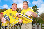 Killarney father and son Tim and Kevin Griffin who will be going to Capetown iin South Africa as part of the Niall Mellon Township trust on Saturday...