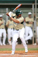 February 22, 2009:  Outfielder Chris Rey (11) of the University of South Florida during the Big East-Big Ten Challenge at Naimoli Complex in St. Petersburg, FL.  Photo by:  Mike Janes/Four Seam Images