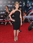 Scarlett Johansson at Marvel's The Avengers World Premiere held at The El Capitan Theatre in Hollywood, California on April 11,2012                                                                               © 2012 DVS/Hollywood Press Agency