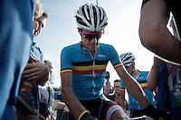 Jasper Stuyven (BEL/Trek-Segafredo) post-race<br /> <br /> 69th Halle-Ingooigem 2016 (200km)