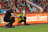 AFC Bournemouth Manager Eddie Howe during AFC Bournemouth vs Real Betis, Friendly Match Football at the Vitality Stadium on 3rd August 2018