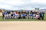 Players, coaches and parents at the Sophomore Day celebration after the first game of the Western Nevada College softball doubleheader on Saturday, April 30, 2016 at Pete Livermore Sports Complex. Photo by Shannon Litz/Nevada Photo Source