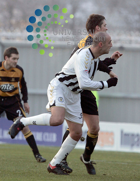 Billy Mehmet of St Mirren scores his first goal during St Mirren v Alloa during the 4th round active nation scottish cup at St Mireen Park..9 January 2010..www.universalnewsandsport.com.(0ffice) 0844 884 51 22